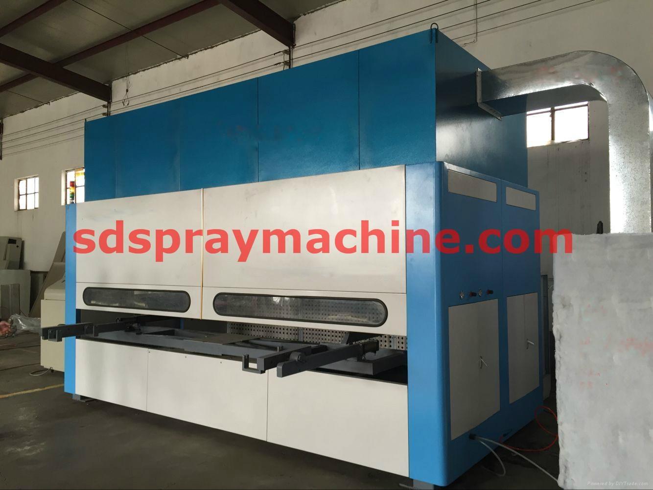Automatic Spray Machine for windows & Doors 1
