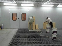 China Infrared Furniture Paint Spraying Room & Drying Room