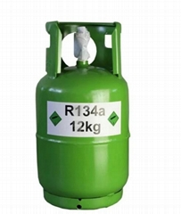 99.9% Purity 13.6kg/30lbs Disposable Cylinder Freon 134A Refrigerant Gas R134A