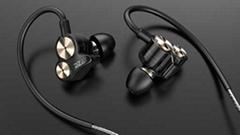 DZAT耳机入耳式手机重低音耳塞