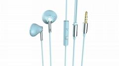 3.5毫米立体声耳机与麦克风耳线控制在平衡身临其境的低音完美