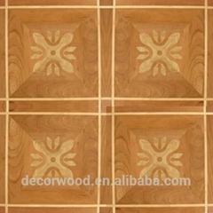Popular design parquet flooring american maple laminated parquet flooring