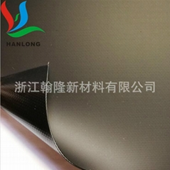 First-class wind dryer fabric double anti-black pvc coated fabric fan fabric