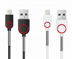 MFi 8pin Lightning cable for iPhone 5 6s iPad iPod