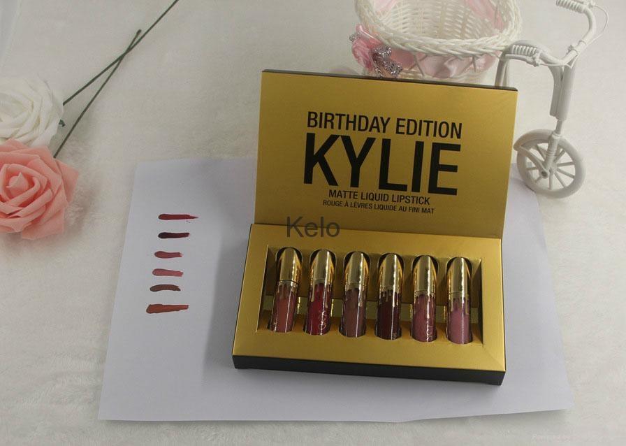 6 Colors/set  Waterproof Long Lasting Matte Liquid Lipstick Beauty Lip Gloss 4