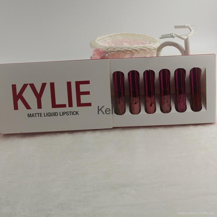 6 Colors/set  Waterproof Long Lasting Matte Liquid Lipstick Beauty Lip Gloss 6