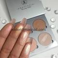 Makeup Palettes,4 palette colors 1