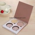 Makeup Palettes,4 palette colors 2