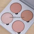 Makeup Palettes,4 palette colors 5