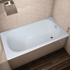 drop-in cast iron bathtub