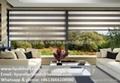 Liyu zebra sheer roller blinds shades 3