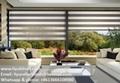 Liyu zebra sheer roller blinds shades