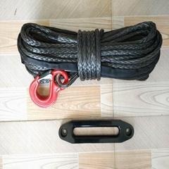 12 Strand UHMWPE Winch Rope Mooring Rope Black