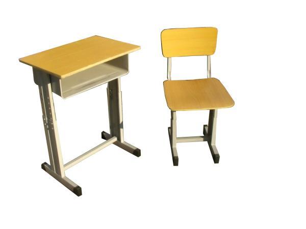 钢木升降学生培训桌椅学生桌 1