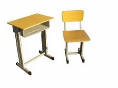 钢木升降学生培训桌椅学生桌