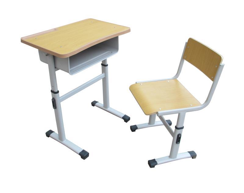 钢木升降学生培训桌椅学生桌 3