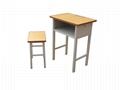 钢木升降学生培训桌椅学生桌 4