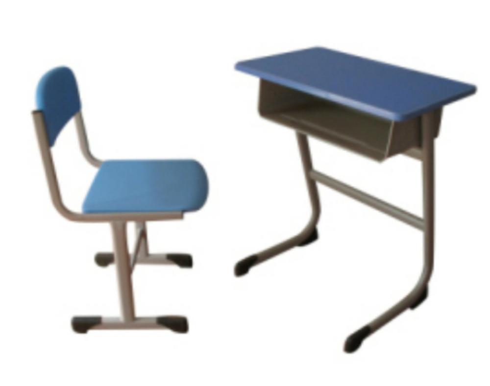 钢木升降学生培训桌椅学生桌 5