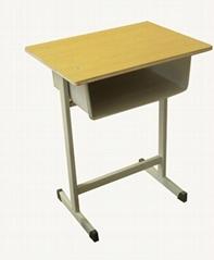 學生學習輔導班鋼木課桌凳600×400