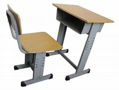 新型ABS塑鋼課桌椅可昇降