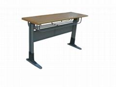 供應單人課桌椅HX-K017