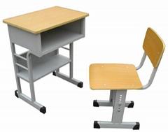 可昇降學生課桌椅HX-K020