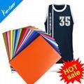 TPU heat transfer vinyl 12colors 21*29cm