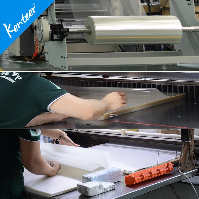 Glossy PET film for screen printing hot sale 4