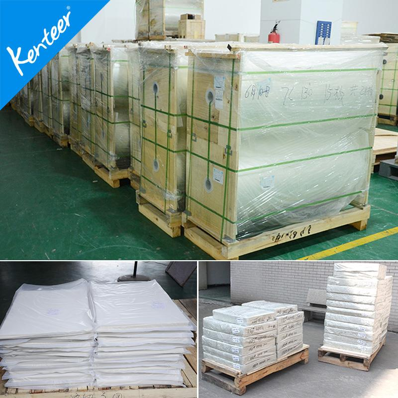 Glossy PET film for screen printing hot sale 6
