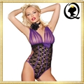 New Arrival Latest Fashion Design Underwear Tight Lace Cut Out One-piece Teddy f 5