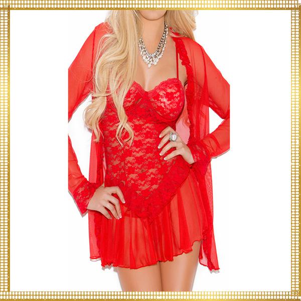 Best Popular Valentine Gift for Girlfriend Sexy Open Sleepwear Erotic High Quali 3