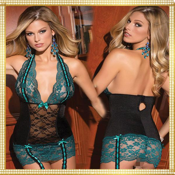 Wholesale Women Black Sweetheart Bustier Lace Corset Sexy Lingerie Babydoll Naug 1