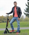 2017 Newly Designed Portable Electric Power Fitrider Scooter