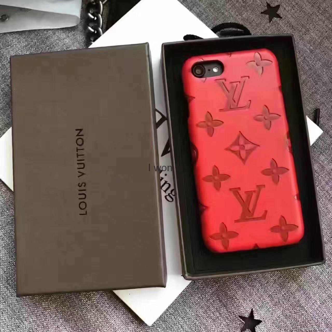 Red Supreme Louis Vuitton Iphone 7 Plus Case | IUCN Water