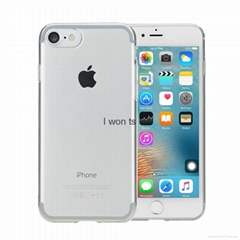 TPU Silicone Case cover Clear case for iphone 5 6 6plus iphone7 7 plus