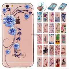 The popular relief beautiful tpu case for iphone 5 6 7 plus