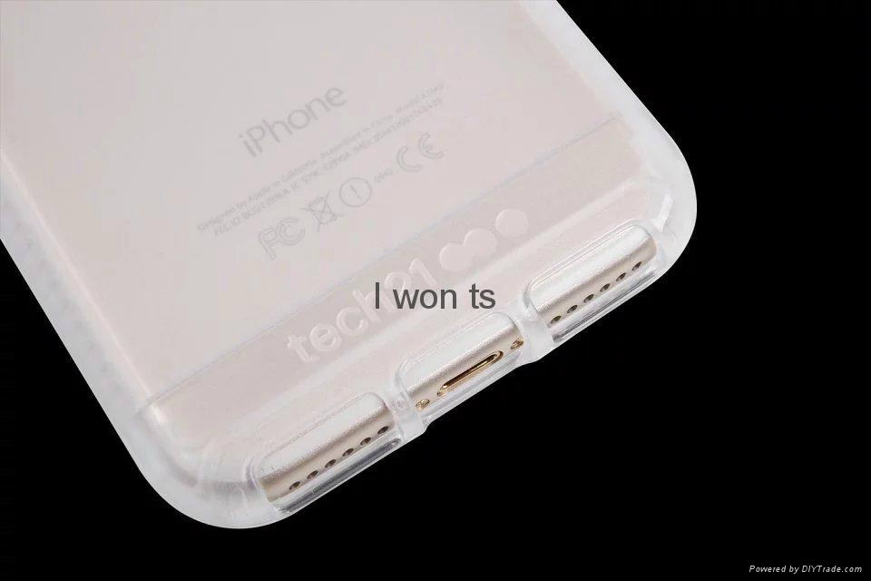 Grind arenaceous anti-collision tech21 IMPACT CLEAR case for iphone 6 7 7 plus 9