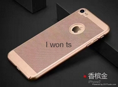 New hot sale Thin light perfect ventilation phone case iphone 6 6plus 7 7plus