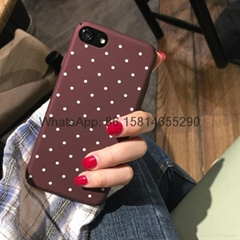 Fashion wave point  tup case for iphone 7 7plus 6 6plus