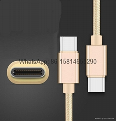 Wholesale good quality type c usb cable for samsung huawei lg phone pc cable