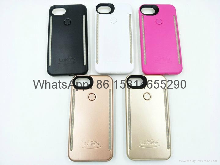 3rd Lumee 2 in1 mobile phone case with led  case for iphone samsung phone case 1