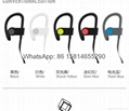 Wholesale good quality low price logo wireless bluetooth sport earphones