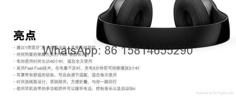 Wholesale best quality Good price logo wireless bluetooth headphones earphones  7