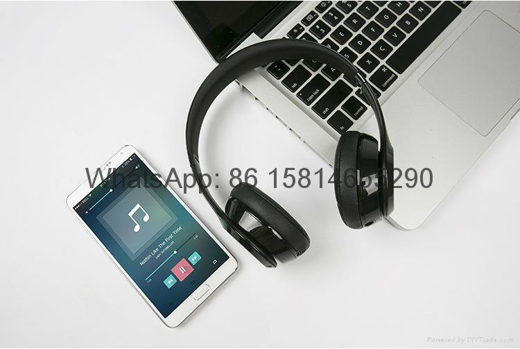 Wholesale best quality Good price logo wireless bluetooth headphones earphones  9