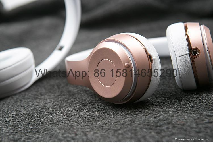 Wholesale best quality Good price logo wireless bluetooth headphones earphones  4