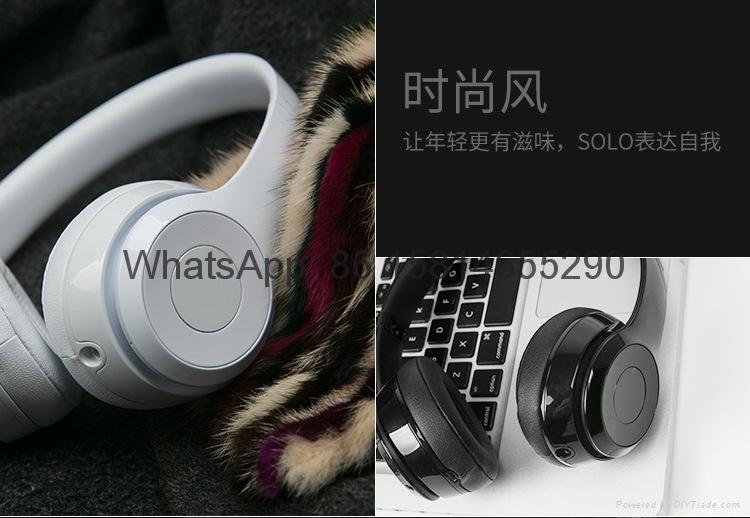 Wholesale best quality Good price logo wireless bluetooth headphones earphones  10