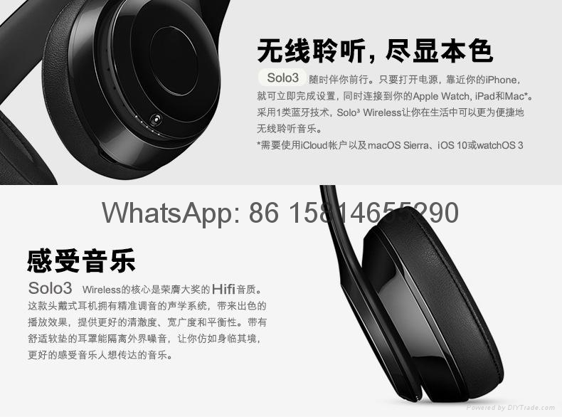 Wholesale best quality Good price logo wireless bluetooth headphones earphones  14