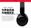 Wholesale best quality Good price logo wireless bluetooth headphones earphones  15
