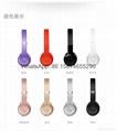Wholesale best quality Good price logo wireless bluetooth headphones earphones  2