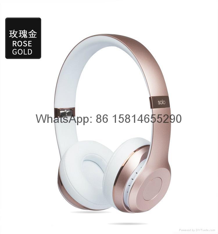 Wholesale best quality Good price logo wireless bluetooth headphones earphones  5
